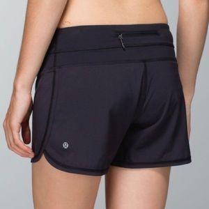 LULULEMON Groovy Run Shorts Lined Black 12